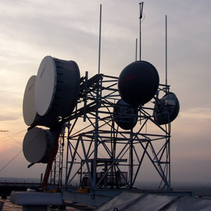 Wireless radio tower